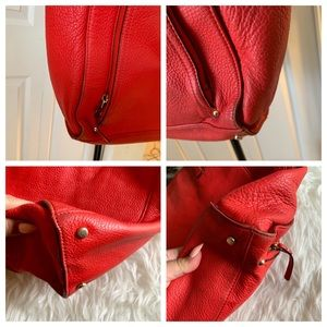 kate spade Bags - Kate space New York cobble hill red leather tote